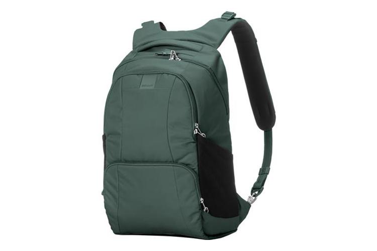 Pacsafe metrosafe backpack for travelers and digital nomads
