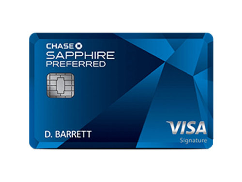 Chase Sapphire Preferred Credit card for digital nomads and travelers