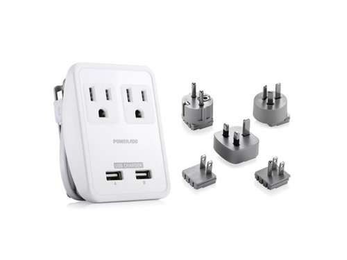 universal outlet adapter for digital nomads