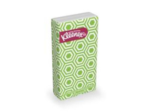 Travel size kleenex