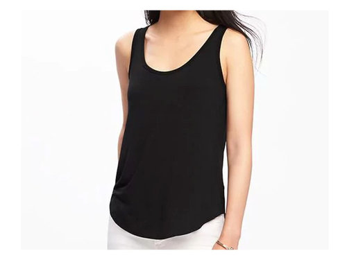 Old navy luxe curved hem tank